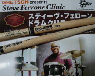 Steve Ferrone Interview (No.2)(2008/9)
